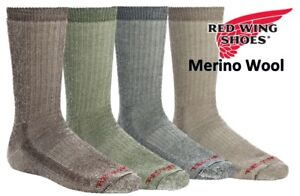 946e49501249a Red Wing Men's Heritage (Fits 9-12) Merino Wool Crew Hiking Sock ...