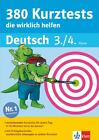 380 Kurztests, die wirklich helfen Deutsch 3./4. Klasse (2015, Taschenbuch)