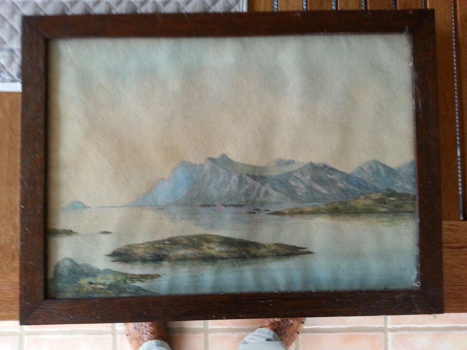 Billeder, akvarel fra Grønland
