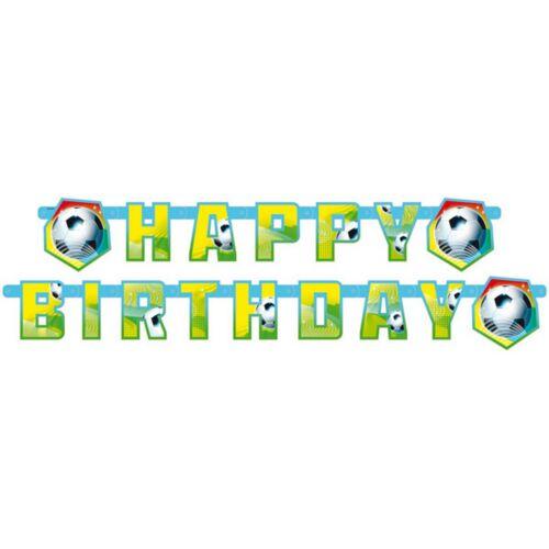 AMSCAN 552566 Geburtstag /& Party Fußball Partykette