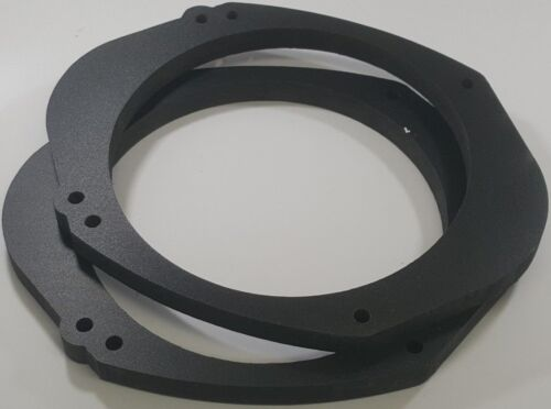 """LARGE 5.625/"""" Cutout Universal 5x7 or 6x8 to 6 1//2/"""" PVC Speaker Adaptor 12mm"""