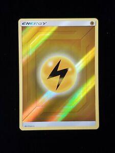 MINT Pokemon LIGHTNING ENERGY Hidden Fates Rev Holo