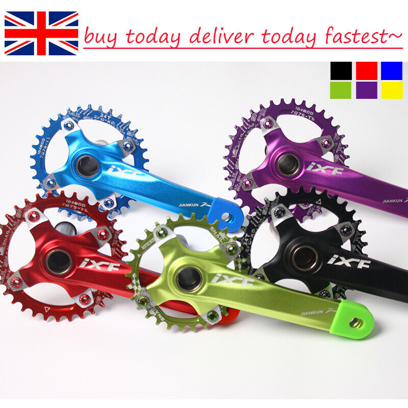 104bcd 30-52t Chainset Crank set Round Oval MTB Road XC AM DH Fahrrad Chainring