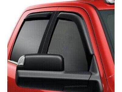 Voron Glass in-Channel Extra Durable Rain Guards for Trucks Dodge RAM 1500 2019-2021 Quad Cab Vent Window Visors Window Deflectors 4 Pieces 230088