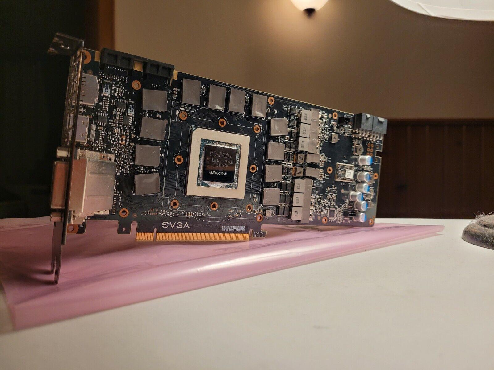 Nvidia EVGA GeForce GTX 980 Ti 6GB Graphics Card