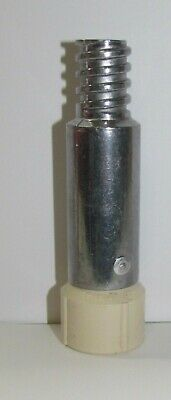 Italian compatible threads to Acme male threads B Extension Pole Tip adapter