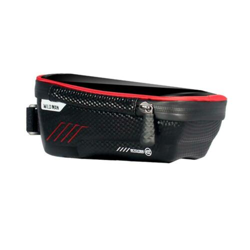 MTB Mountain Bike Bags Pouch Waterproof Bicycle Mobile Phone Front Tube Pannier