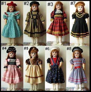 Robe Poupée Ancienne Allemande Jumeau Sfbj Kestner Halbig Dress Antique Doll 7d22i502-07175148-231698463