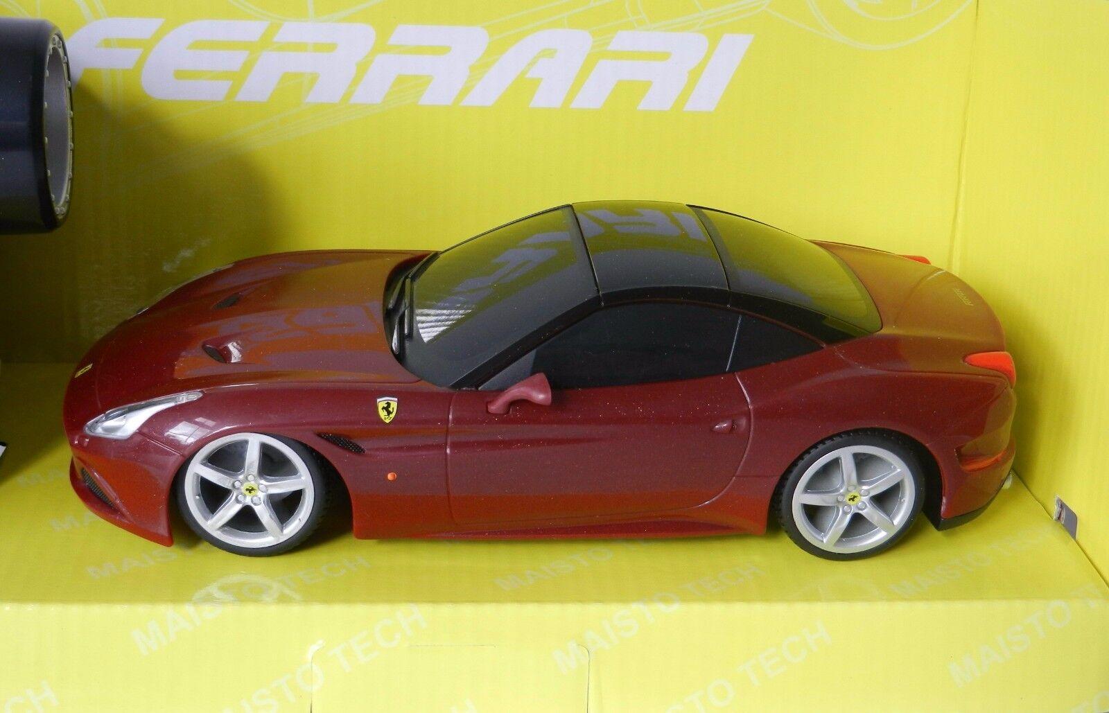 RC FERRARI CALIFORNIA T REMOTE CONTROL MODEL CAR by MAISTO, 1 24