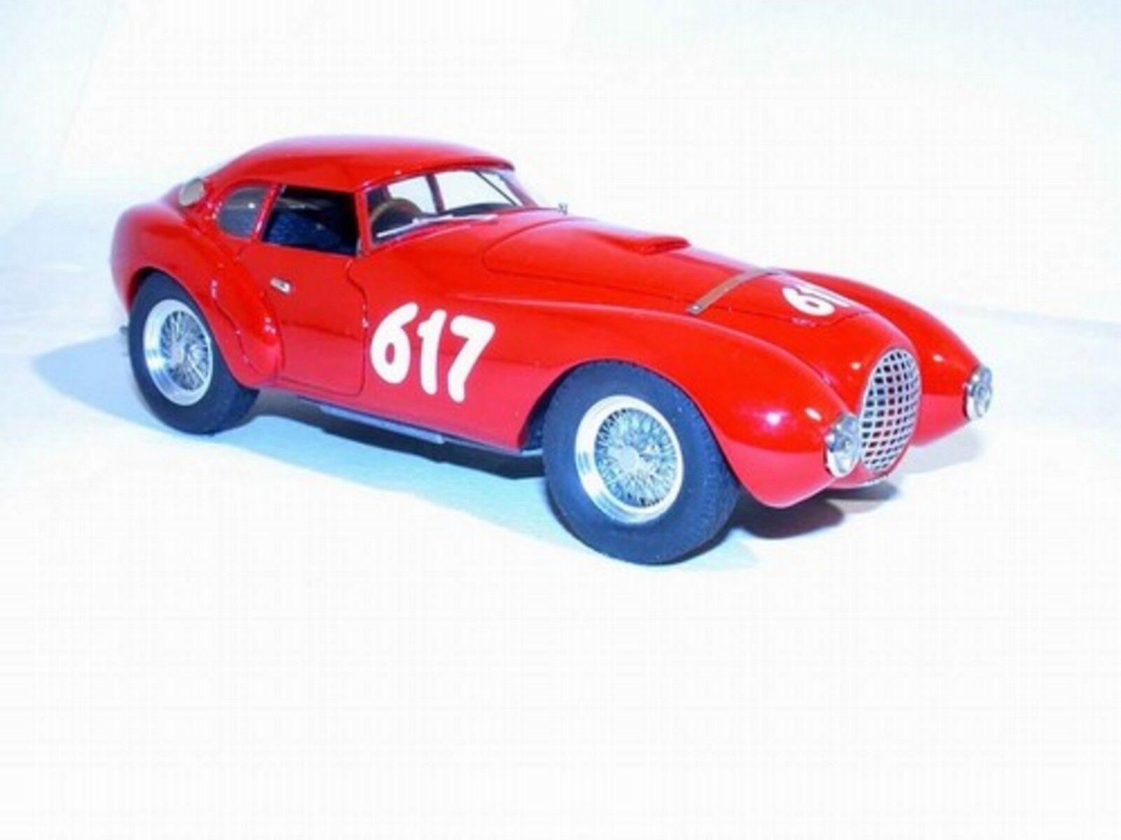 kit Ferrari 212 Uovo Marzotto  617 Mille Miglia 1952 - Tron Models kit 1 24