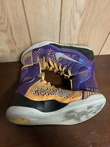 online retailer 63217 d1a7b Image is loading Nike-Kobe-9-IX-Elite-Showtime-Lakers-Purple-