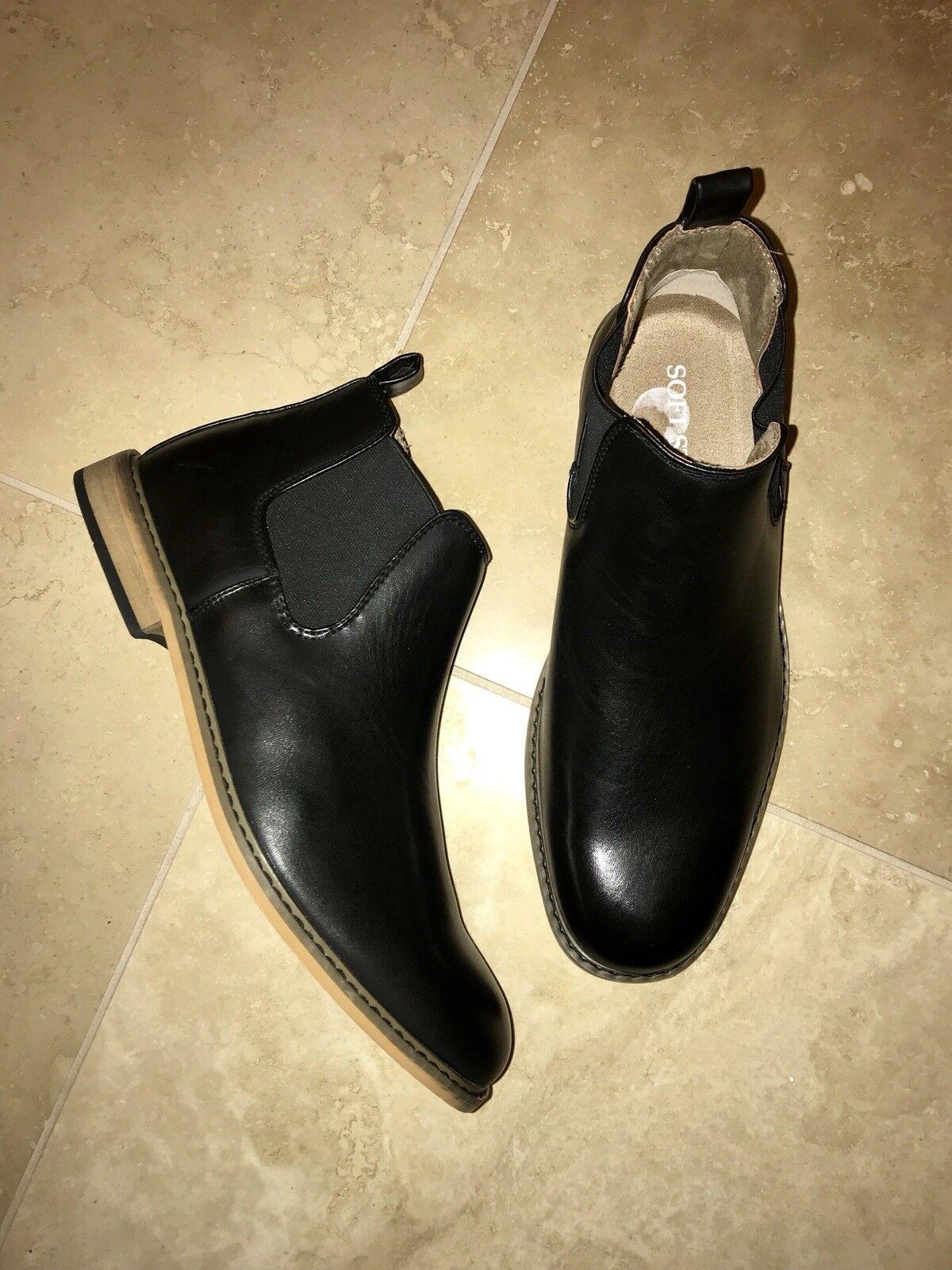 57487d3d868e Brand new SOFT STAGS gorgeous men s men s men s size 8 1 2 black Leather  boots