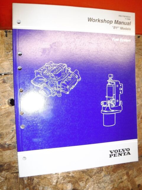 1998 Volvo Penta By Fuel System Factory Service Manual