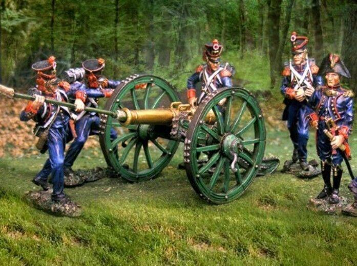 Collezionisti Showcase Napoleonico Francese Linea Artiglieria Set MIB