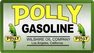 Polly-Benzina-Insegna-Acciaio-360mm-x-200mm-Pst
