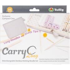 Tulip Needle Company Carry C Interchangeable Bamboo Knitting Needle Set