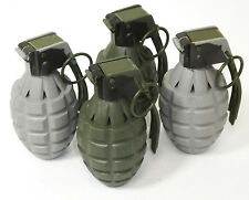 Toy Pineapple Hand Grenades with Sound Effects Ticking/Explosions - 4 Pack
