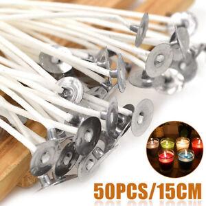 50x-bougie-meche-noyau-de-coton-15cm-pre-cire-pour-la-fabrication-de-bougies