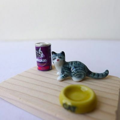 Dollhouse Miniature Size Cat Food Can