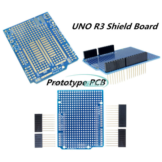 For Arduino UNO R3 Shield Board Prototype PCB DIY Combo 2mm+2.54mm Pitch W//Pin