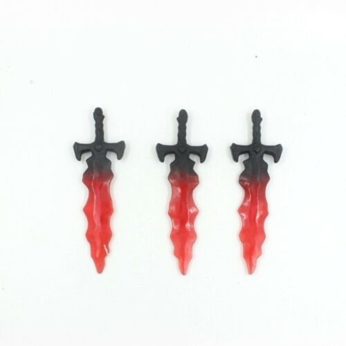 Lot Of 3 Accessory Sword For Masters of the Universe Classics MOTUC FIGUR