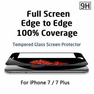 film protection vitre en verre trempe 3d integral pour apple iphone series ebay. Black Bedroom Furniture Sets. Home Design Ideas