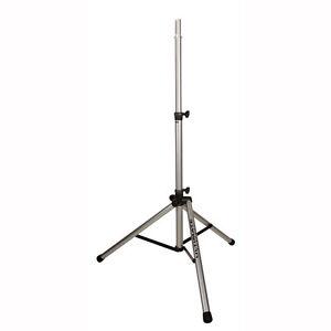 ultimate support ts 80s silver aluminum speaker stand w 150 lb load capacity 784887139038 ebay. Black Bedroom Furniture Sets. Home Design Ideas