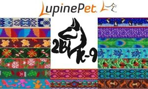 Lupine-Dog-Collars-Multiple-Designs-Available-Lifetime-Guarantee