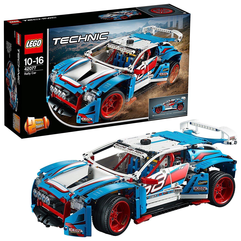 LEGO Technic 42077 La Voiture De Rallye Set Jouet Jeu De Construction Véhicules