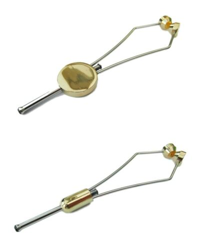 UK Angling Supplies Deluxe Ceramic Fly Tying Brass Bobbin Holder Pack