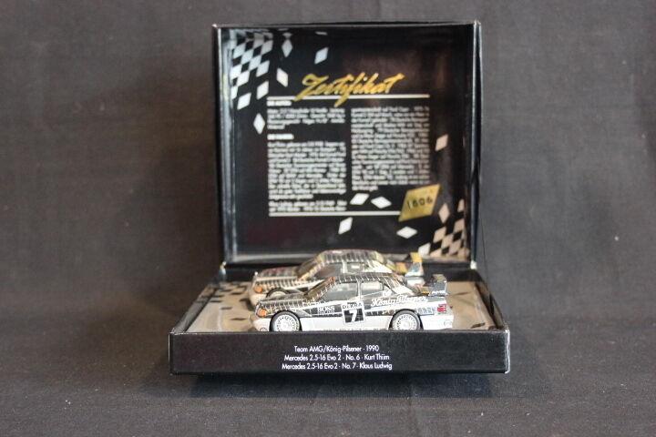 Minichamps Gift set Mercedes-Benz 2.5-16 Evo2 1990 1 43  6 Thiim  7 Ludwig (JS)