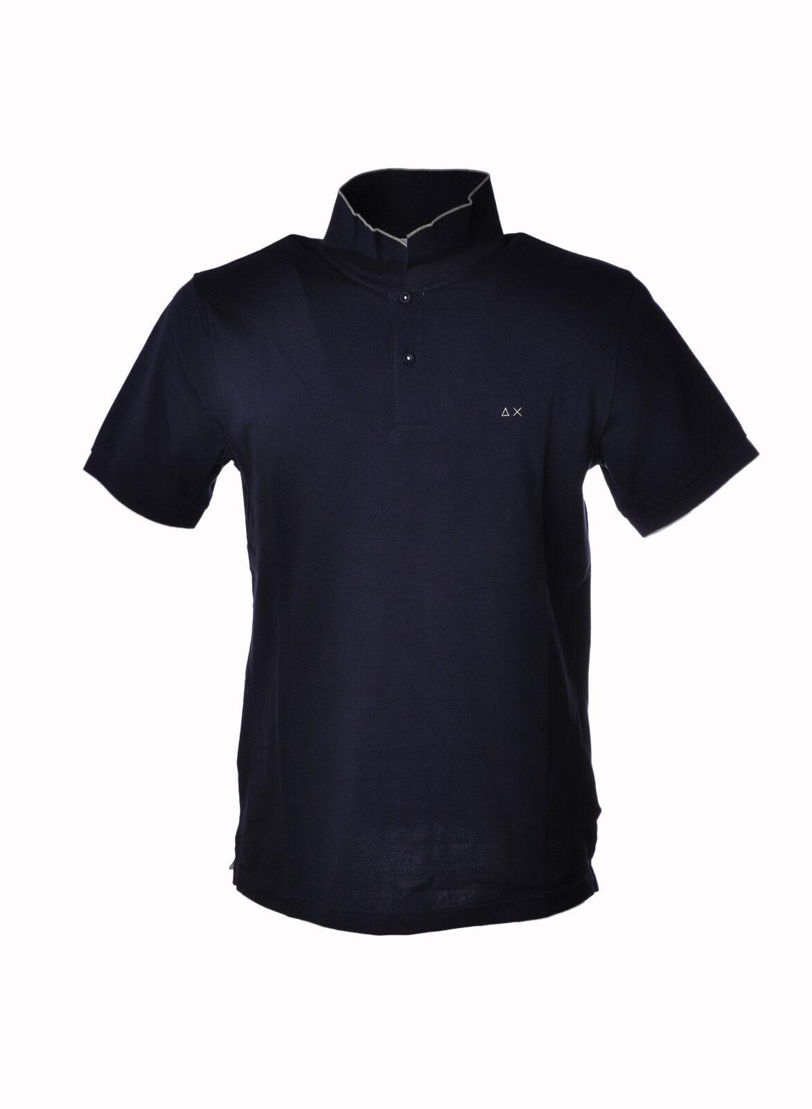 Sun 68 - Topwear-Polo - Man - bluee - 3206619G184445