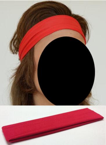 Vendita Da Donna /& Uomo Per Ragazzi /& Ragazze ELASTICA ELASTICO capelli Head Band Cerchietto UK