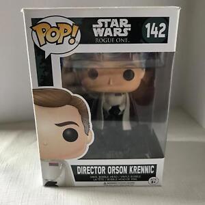 Director Orson Krennic Star Wars Rogue One FUNKO POP 142 Vinyl Bobblehead NIB