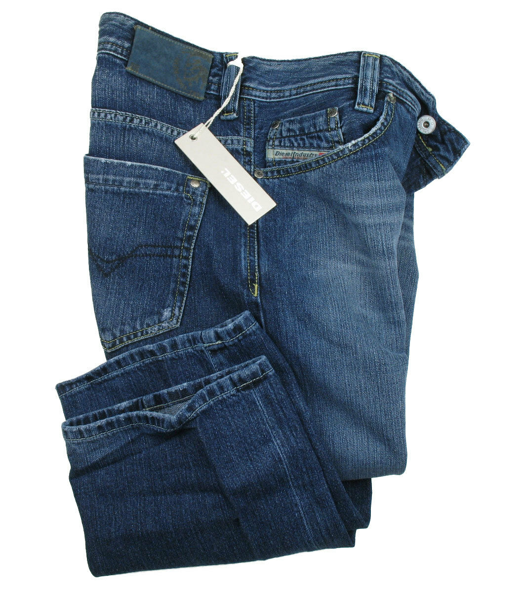 Diesel Jeans KAJO W29 L34 (Straight Fit) Dark bluee Brushed %%