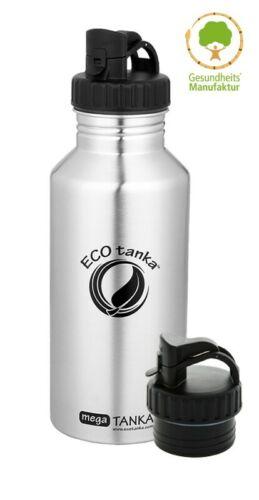 ECO en Acier Inoxydable Mega-Tanka 2 L 2 différentes Fermetures écologique NEUF!!!