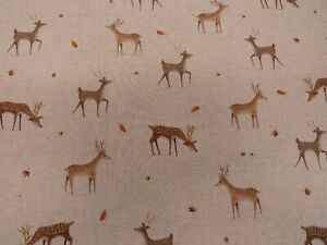 Ducks /& Geese Digital Printed Linen Cotton Fabric Curtain Upholstery Cushions