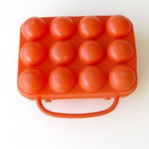 grande vente 69eef 72e26 Détails sur Ancienne Boîte à Oeufs en plastique 12 oeufs - VINTAGE - Orange  France n°470