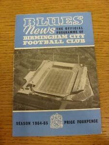 10-10-1964-Birmingham-City-v-Liverpool-folded-rusty-staples-Thanks-for-view