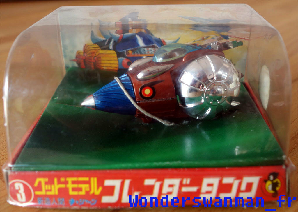 Casshan Friender Tank IMAI Good Model Tatsunoko (Eidai Popy Chogokin Gatchaman)