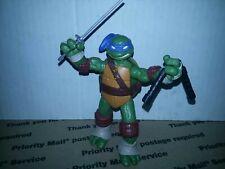 Vintage TMNT Ninja Turtles 1988 Original Leonardo BELT Yellow L accessory sash