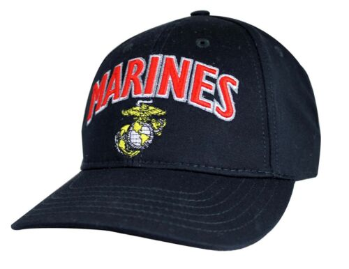 Made In USA Officially Licensed Military Hat Baseball Cap US MARINE U.S.M.C
