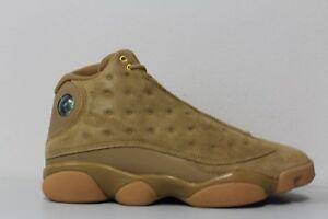 Men's Nike Air Jordan 13 Retro Wheat Element Gold Brown Flax 414571-705 Sz 11