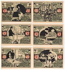 Notgeld Weissenfels 1921 KFR UNC 6 Geldschein: