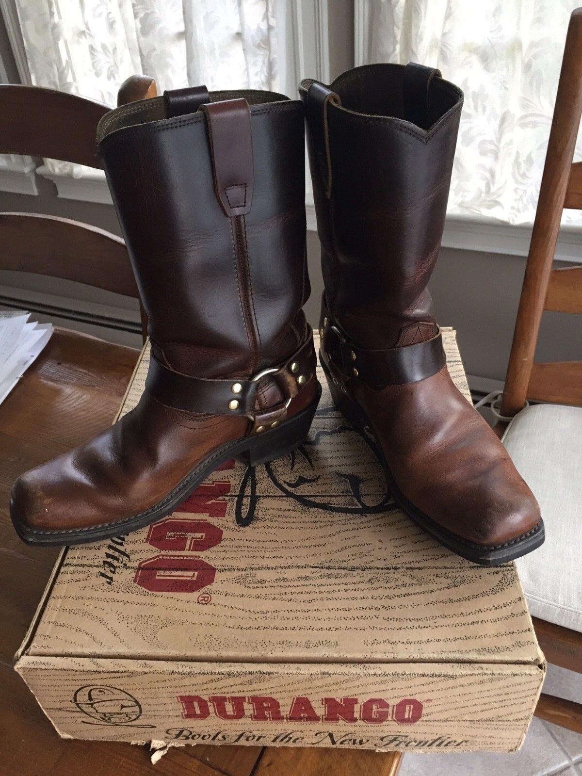 Durango women's gaucho harness BROWN boots size 7.5