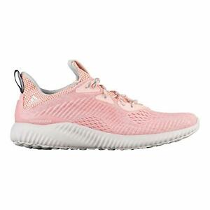 2f5beaea797bc NEW Adidas Alphabounce EM Mens Running Shoes Icey Pink Trace Gray ...
