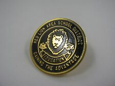 Vintage Collectible Pin: Red Lion Area School District Education Pennsylvania