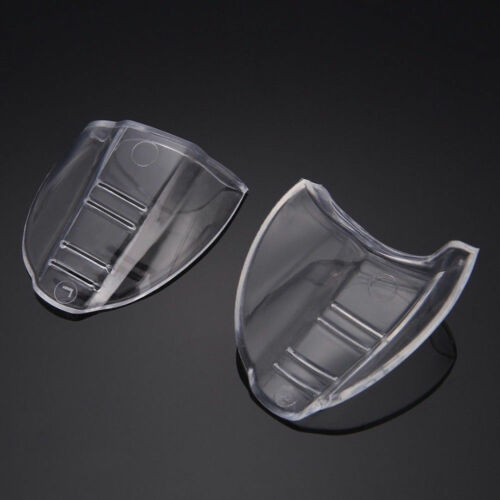 Universal Flexible Protective Clear Cover Side Shields Flap Side For Eye Glasses