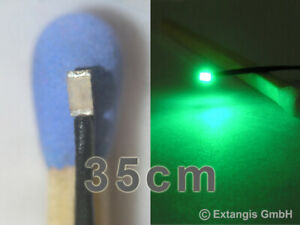 SMD-LED-0603-ULTRAFLACH-GRUN-Litze-XL-35cm-ultraflat-green-vert-groen-verde