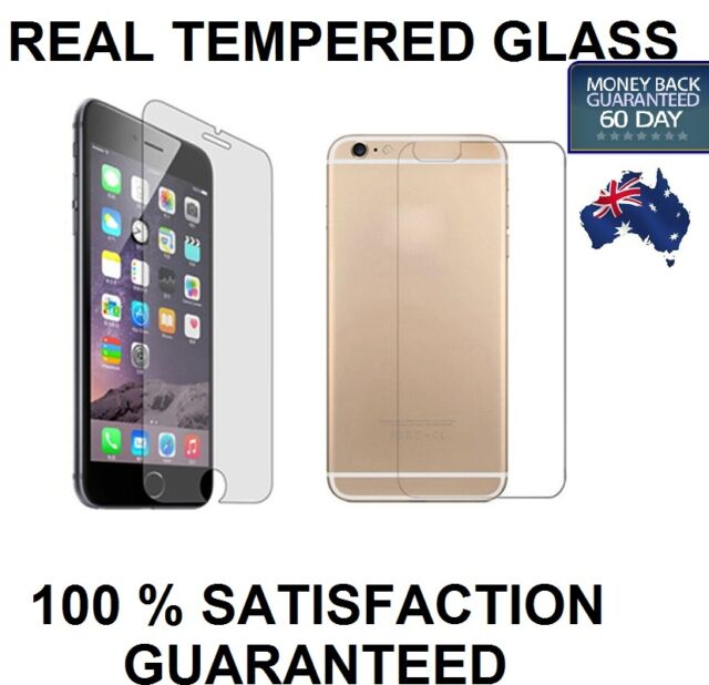 Apple iphone6S 6S Plus TEMPERED GLASS Screen Protector Cover Guard Front & Back